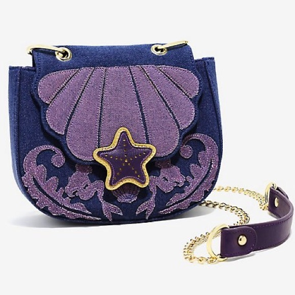 f925cfdf622 DISNEY The Little Mermaid Ariel Denim Bag